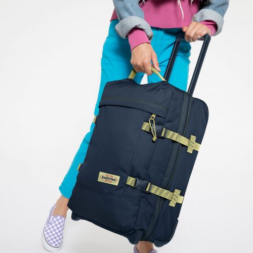 Tranverz S Blakout Stripe Icy Luggage by Eastpak - view 0