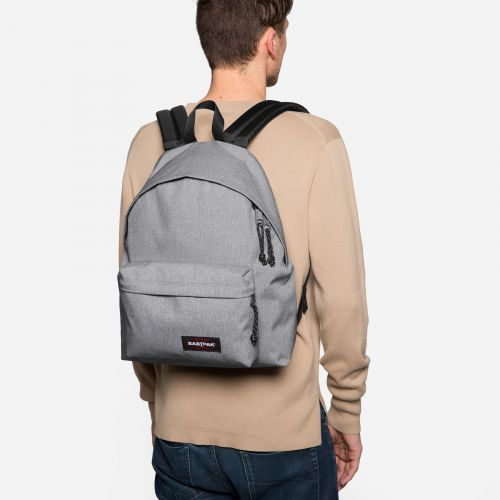 Padded Pak'r Sunday Grey Around Town by Eastpak - view 1
