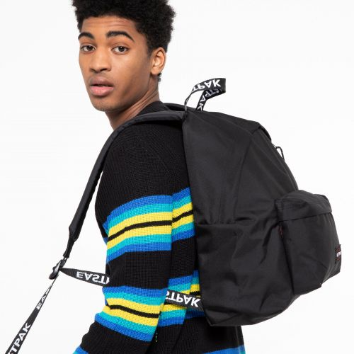 Padded Pak'r® Black Webbed Around Town by Eastpak - view 1