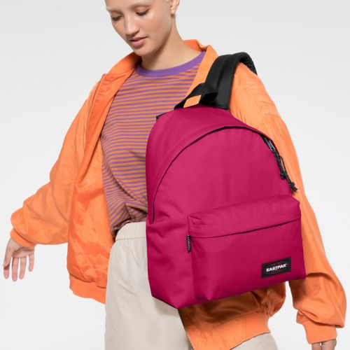 Padded Pak'r® Ruby Pink Backpacks by Eastpak - view 0