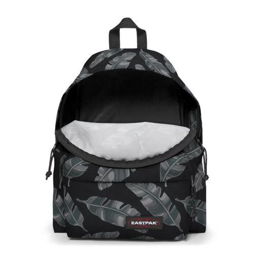 Padded Pak'r® Brize Leaves Black Backpacks by Eastpak