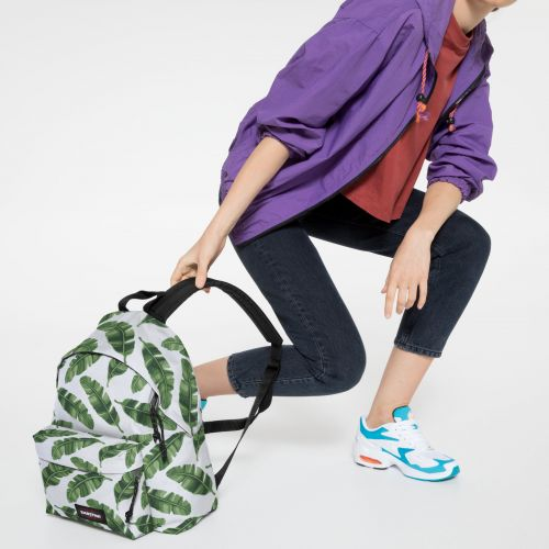 Padded Pak'r® Brize Leaves Natural Backpacks by Eastpak - view 0