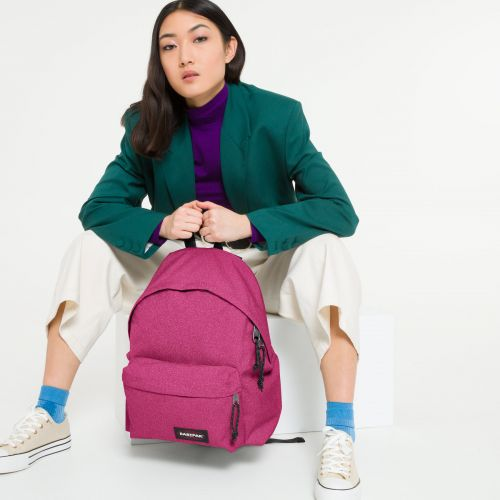 Padded Pak'r® Spark Pink Backpacks by Eastpak - view 0
