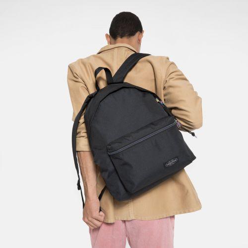 Padded Pak'R® Pearl Black Backpacks by Eastpak - view 1
