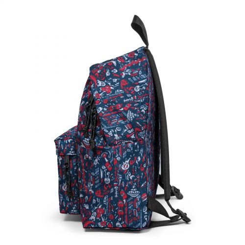Padded Pak'R® Scribble Red Default Category by Eastpak