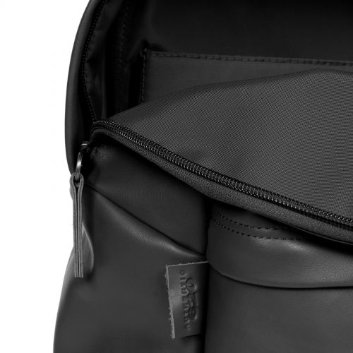 Padded Pak'R® Black Authentic Leather Default Category by Eastpak