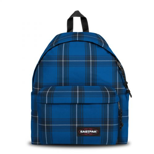 Padded Pak'R® Checked Blue Backpacks by Eastpak