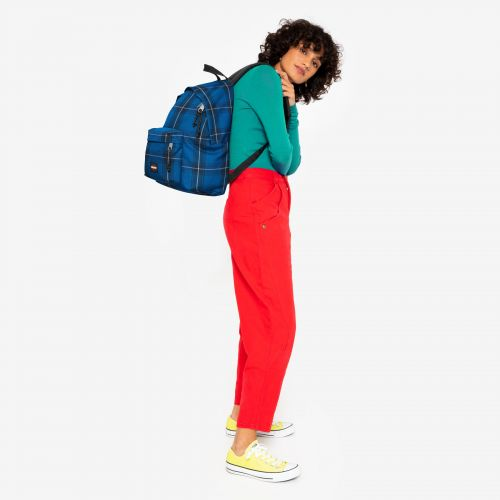Padded Pak'R® Checked Blue Backpacks by Eastpak - view 15