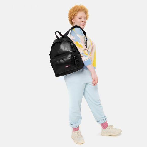 Padded Pak'R® Shine Black Backpacks by Eastpak