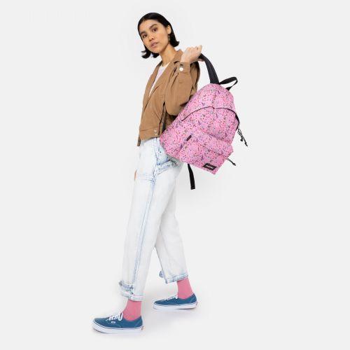 Padded Pak'R® Herbs Pink Backpacks by Eastpak