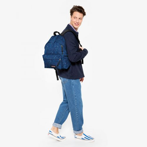 Padded Pak'R® Herbs Navy Backpacks by Eastpak
