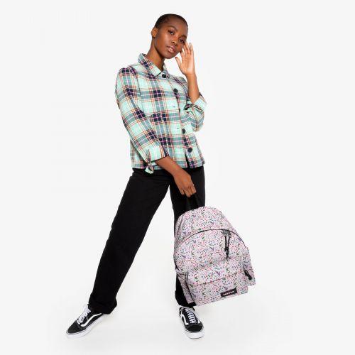 Padded Pak'R® Herbs White Backpacks by Eastpak - view 15