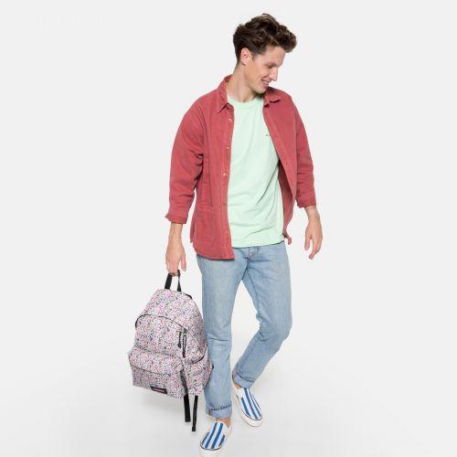 Padded Pak'R® Herbs White Backpacks by Eastpak - view 17