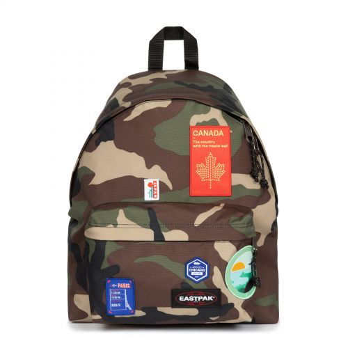 Padded Pak'R® Patched Camo Backpacks by Eastpak - view 1