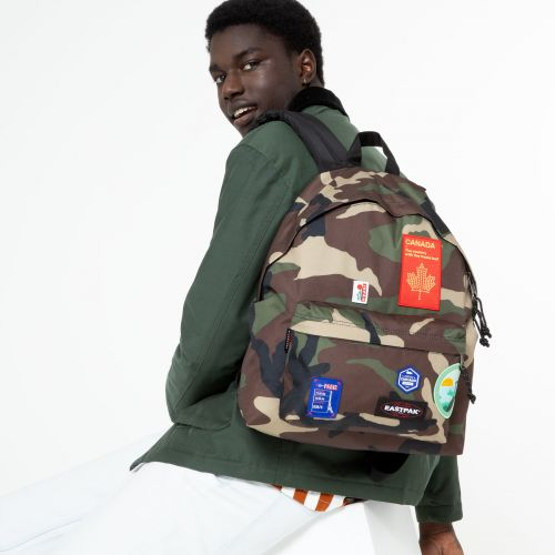 Padded Pak'R® Patched Camo Backpacks by Eastpak