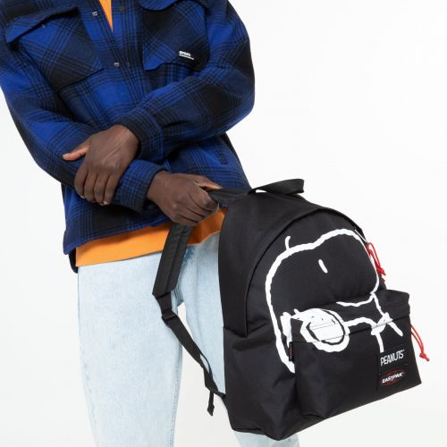 Padded Pak'R® Peanuts Placed Snoopy Backpacks by Eastpak - view 1