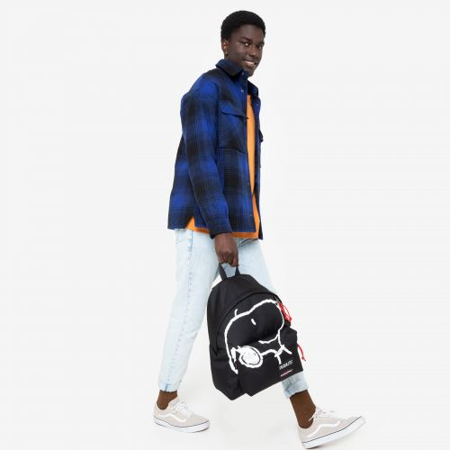 Padded Pak'R® Peanuts Placed Snoopy Backpacks by Eastpak - view 19