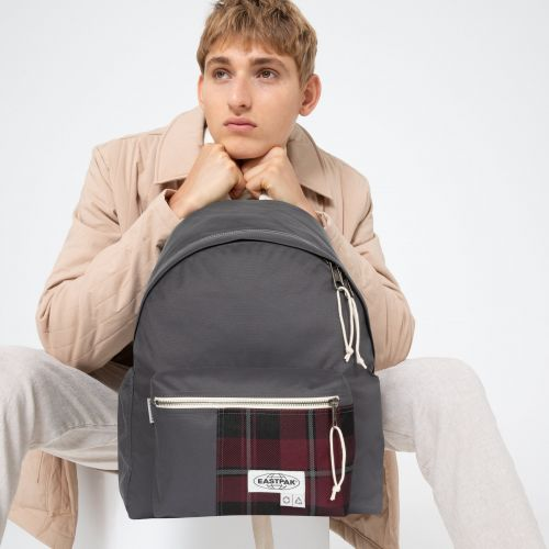 Padded Pak'R® Sr+ Grey Backpacks by Eastpak