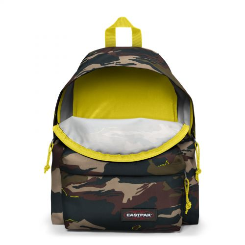 Padded Pak'R® Outline Yellow Backpacks by Eastpak
