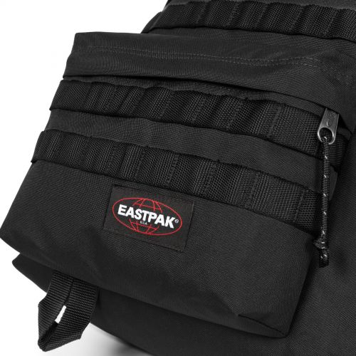 Padded Pak'R® Strapped Black Backpacks by Eastpak