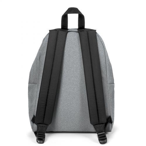 Padded Pak'R® Glitsilver Backpacks by Eastpak