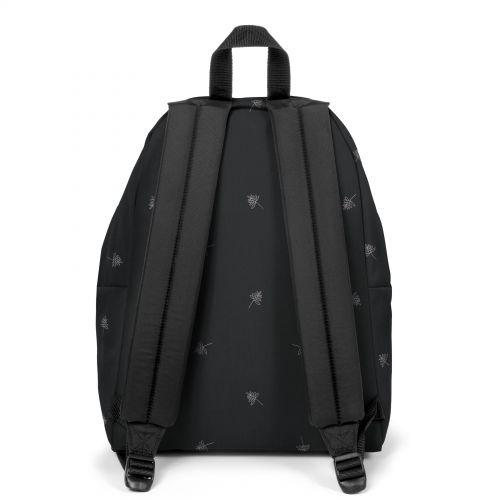 Padded Pak'R® Line Black Backpacks by Eastpak