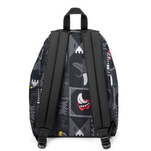 Padded Pak'R® Wall Art Black Backpacks by Eastpak