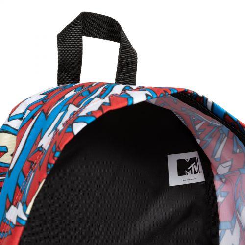 PADDED PAK'R MTV White Backpacks by Eastpak - view 8