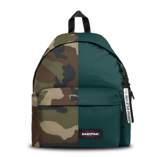 Re-built: Recycled Padded Pak'r® Camo/Emerald Green