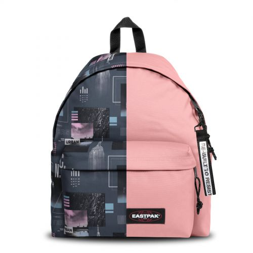 Re-built: Recycled Padded Pak'r® City Bites/Baby Pink