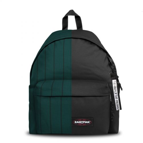 Re-built: Recycled Padded Pak'r® Green Stripes/Black