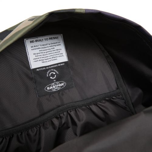 Re-built: Recycled Padded Pak'r®Brown/No Signal Pink Backpacks by Eastpak