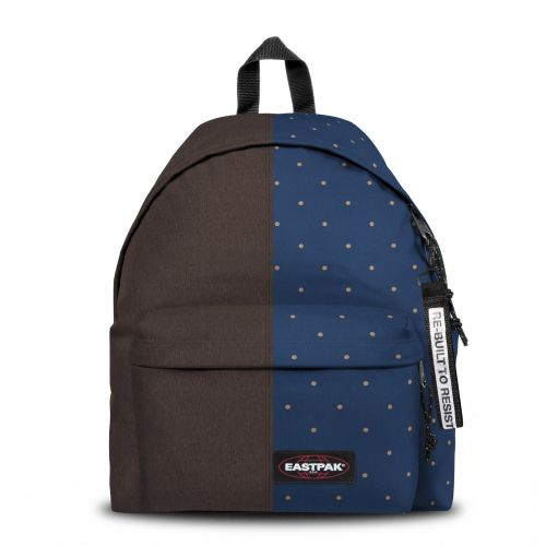 Re-built: Recycled Padded Pak'r®Brown/Dots Backpacks by Eastpak