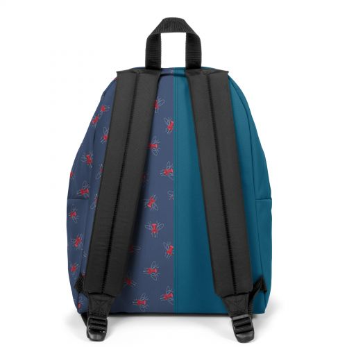 Re-built: Recycled Padded Pak'r®Tribe Blue/Beatle Pin Backpacks by Eastpak - view 4