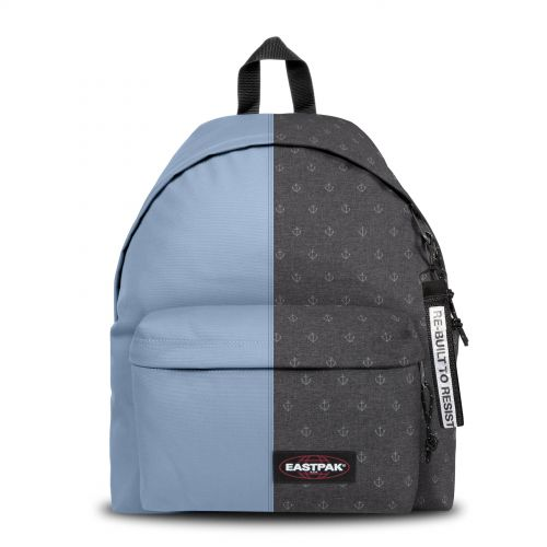 Re-built: Recycled Padded Pak'r®Baby Blue/Sailor Melange Backpacks by Eastpak - view 1