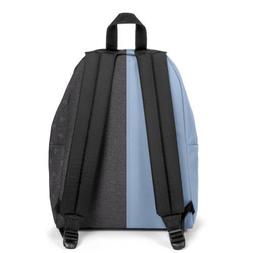 Re-built: Recycled Padded Pak'r®Baby Blue/Sailor Melange Backpacks by Eastpak - view 4