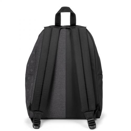 Re-built: Recycled Padded Pak'r®Black/Sailor Melange Backpacks by Eastpak - view 4