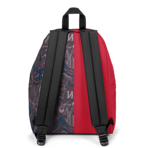 Re-built: Recycled Padded Pak'r®Sailor Red/Sketch Life Backpacks by Eastpak - view 4