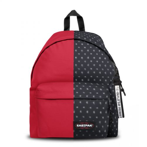 Re-built: Recycled Padded Pak'r®Sailor Red/Flow Black Backpacks by Eastpak - view 1