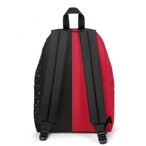 Re-built: Recycled Padded Pak'r®Sailor Red/Flow Black Backpacks by Eastpak - view 4
