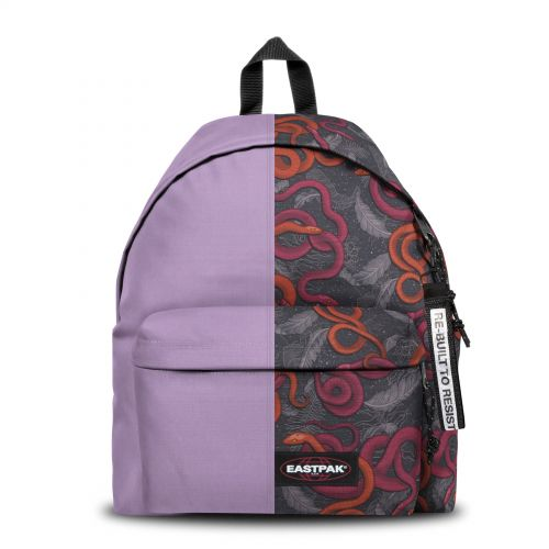 Re-built: Recycled Padded Pak'r®Cool Grey /Snake Leaf Backpacks by Eastpak - view 1