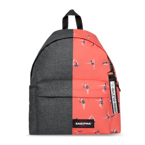 Re-built: Recycled Padded Pak'r®Stone Grey/Diver Backpacks by Eastpak - view 1