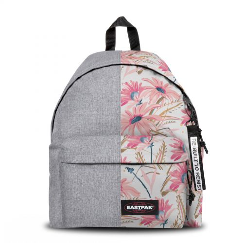 Re-built: Recycled Padded Pak'r®Stone Grey/Harmony Backpacks by Eastpak - view 1