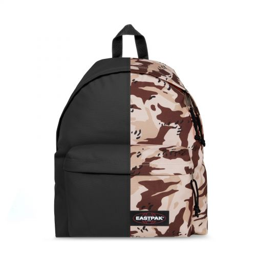Re-built: Recycled Padded Pak'r®Stone Grey/Under Cover Backpacks by Eastpak - view 1