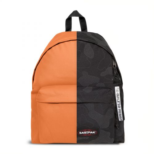 Re-built: Recycled Padded Pak'r®Sand/Prussian Blue Print Backpacks by Eastpak - view 1