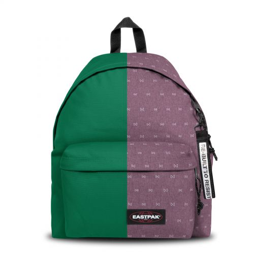 Re-built: Recycled Padded Pak'r®Green/Mini Bows Backpacks by Eastpak - view 1