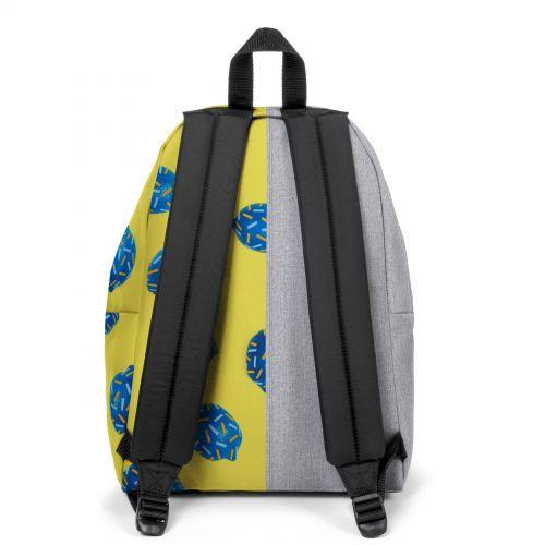 Re-built: Recycled Padded Pak'r® Dark Denim/Happy lemon Backpacks by Eastpak - view 4