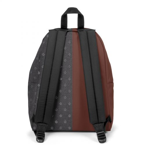Re-built: Recycled Padded Pak'r® Rusty Brown/Sailor Grey Backpacks by Eastpak - view 4