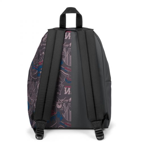 Re-built: Recycled Padded Pak'r® Metal Grey/Red Wolves Backpacks by Eastpak - view 4