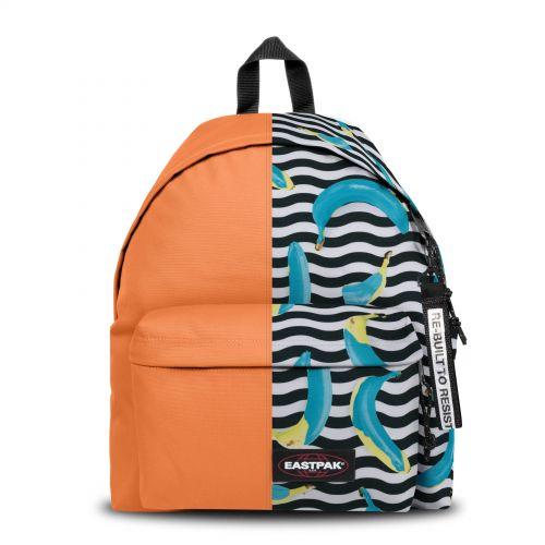 Re-built: Recycled Padded Pak'r® Orange/Blue Banana Backpacks by Eastpak - view 1